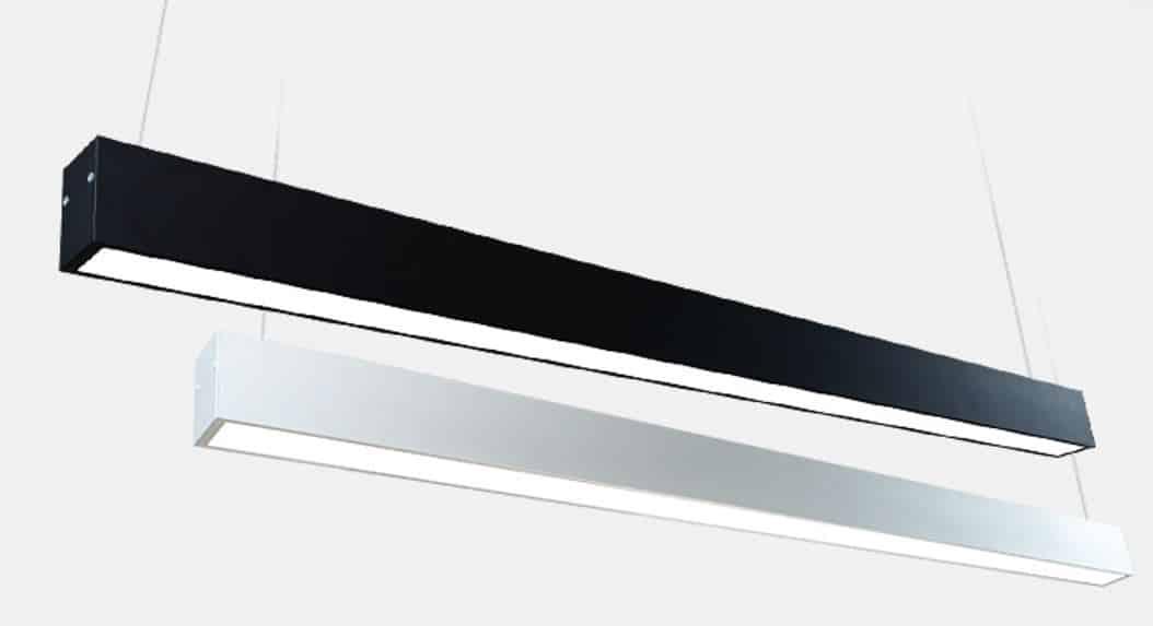 Rectoon Slim Rectangular Linear Hanging Lamp