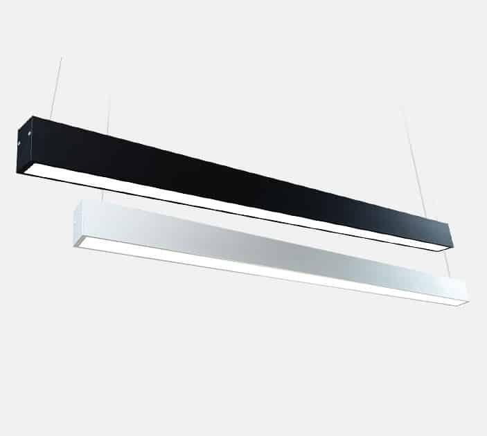 finest selection 63e48 85933 Rectoon Slim Rectangular Linear Hanging Lamp