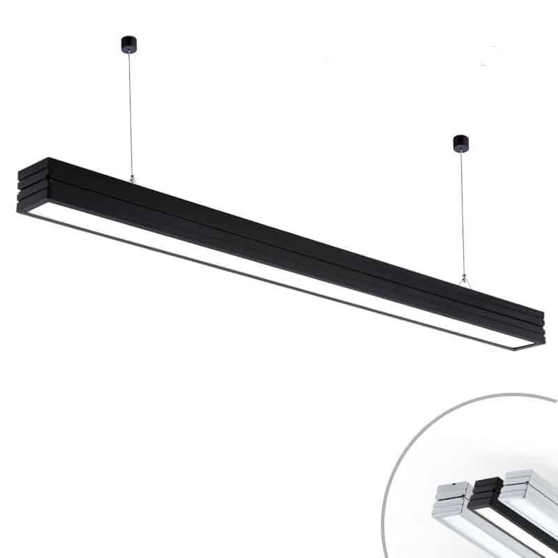 Rectuna Linear Rectangular Hanging Lamp