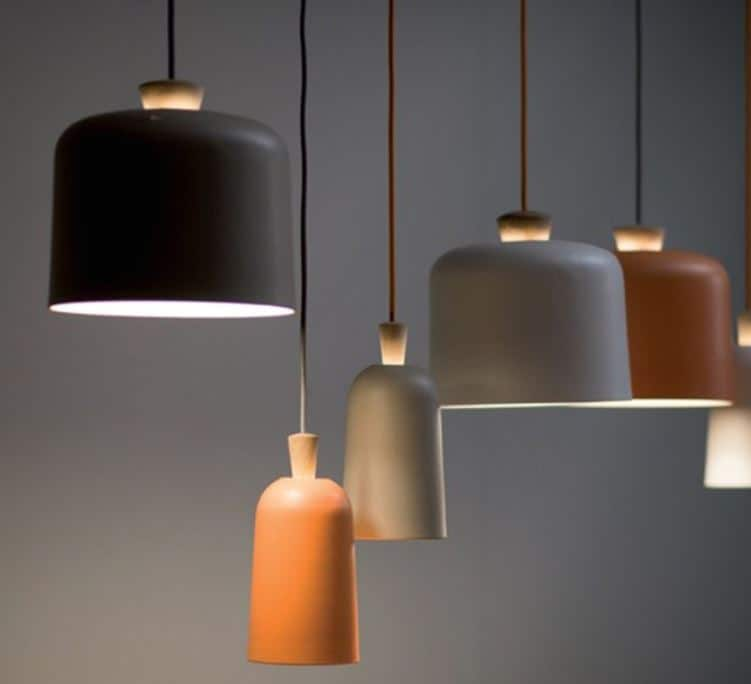 ADRIAN Scandi Sleek Dome Lamp