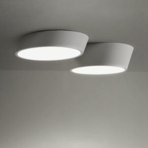 VILHELMINA Inclined Elliptical Ceiling Light - 2 Lamps