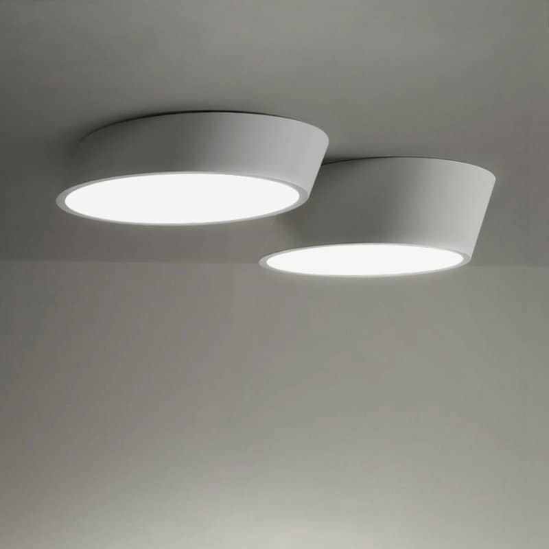 VILHELMINA Inclined Elliptical Ceiling Light