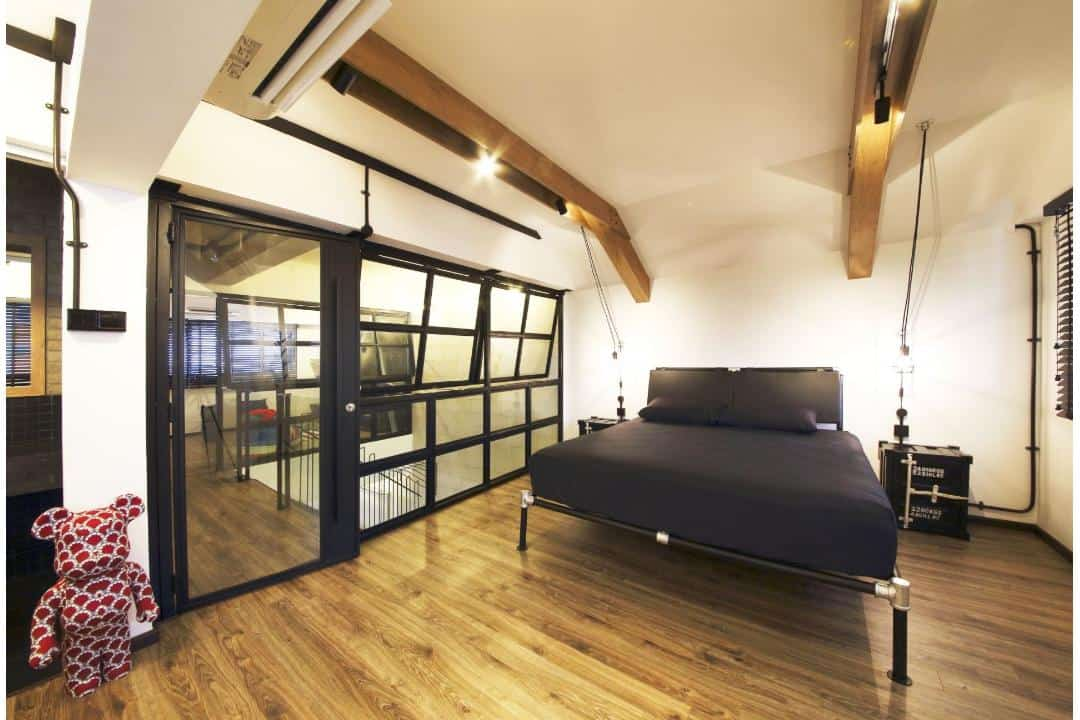 bedok hdb loft style