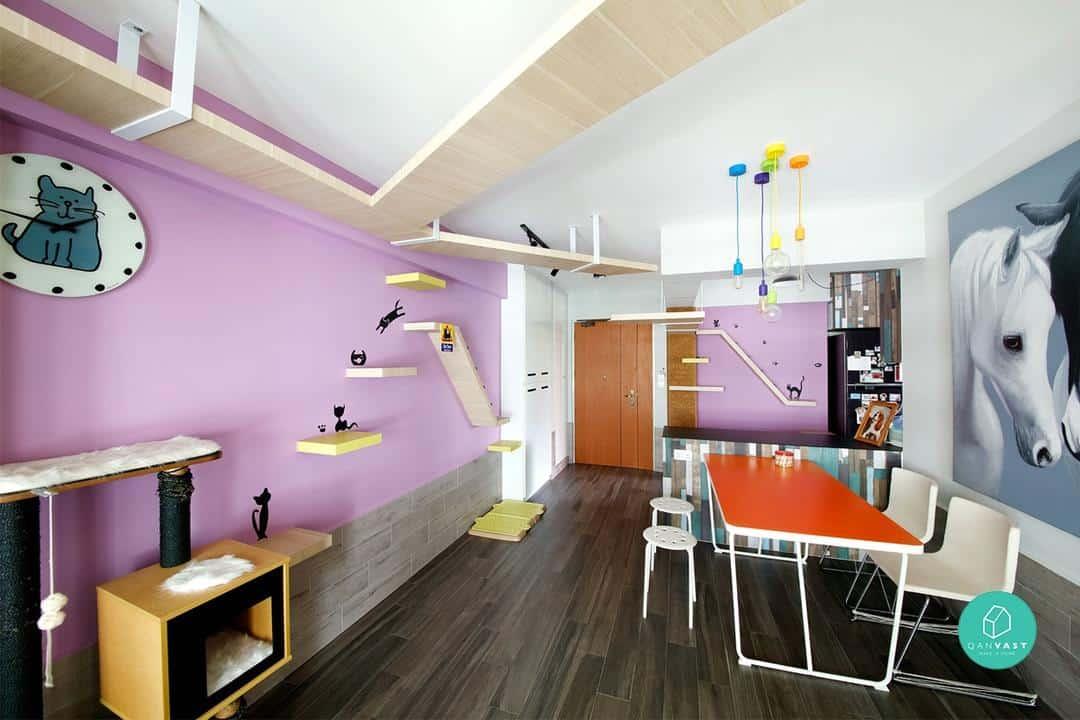 ceiling cat design cute hdb