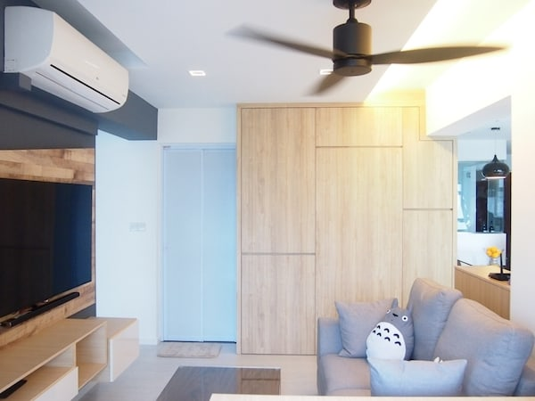 japanese minimalist scandic living