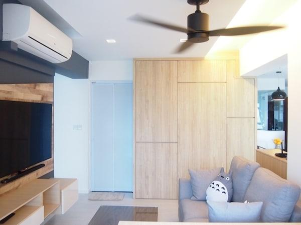 japanese minimalist scandic living