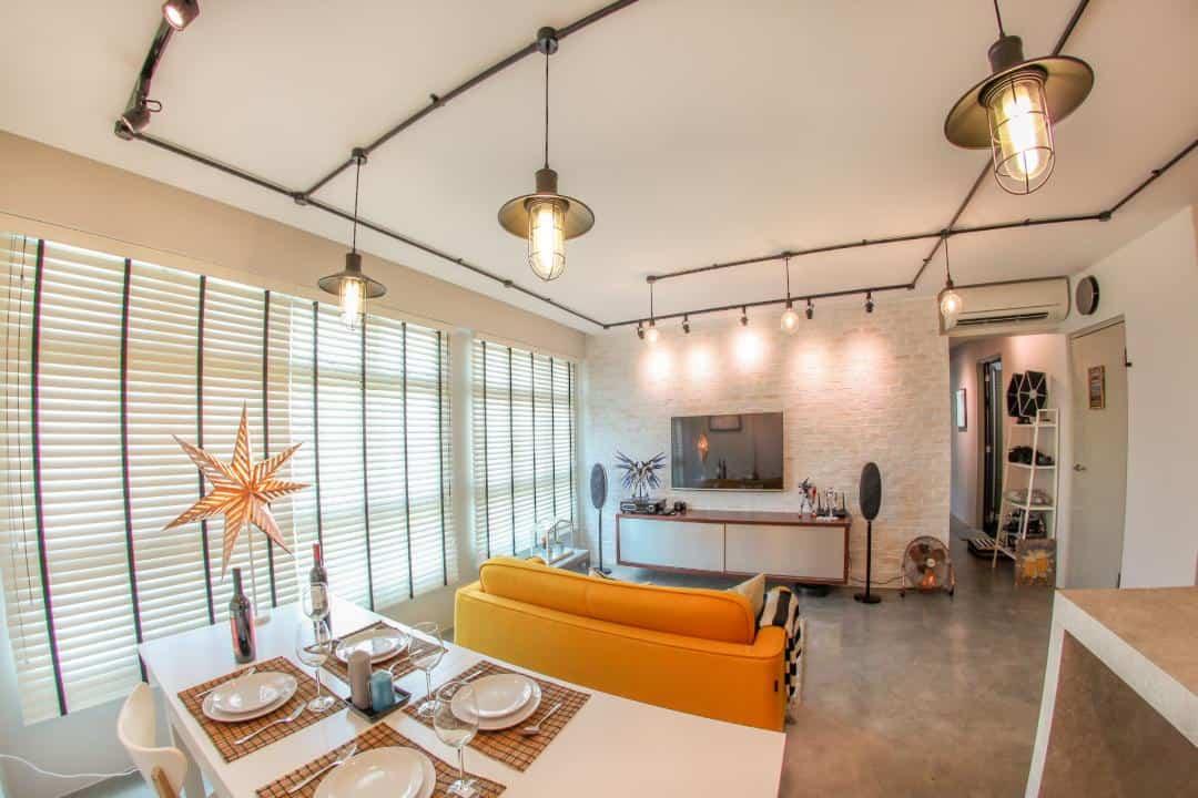 yishun2 hdb lights interior design