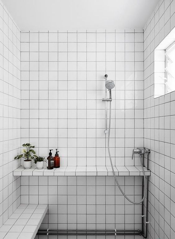 monochrome bathroom singapore