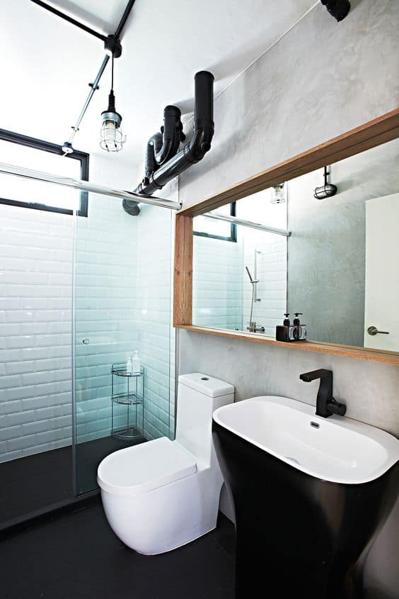 cool cement bathroom singapore