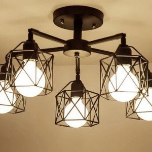 COINNEACH Crystal Vault Ceiling Lamp