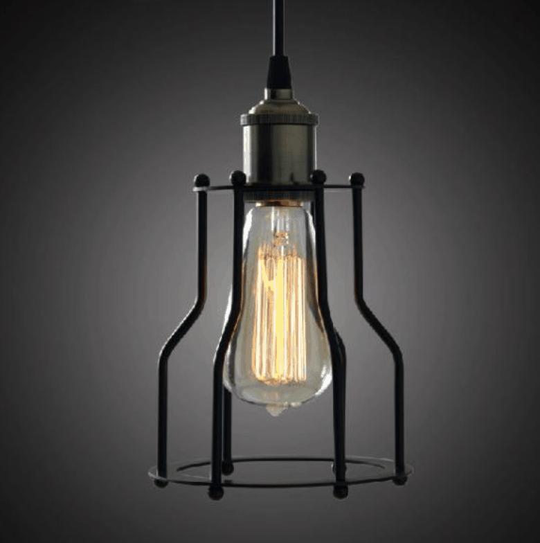 werner bird cage lamp