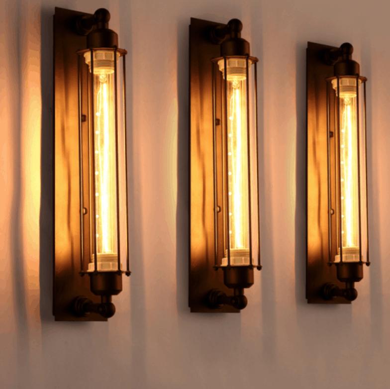 BEATA Bermuda Triangle Pencil Wall Light