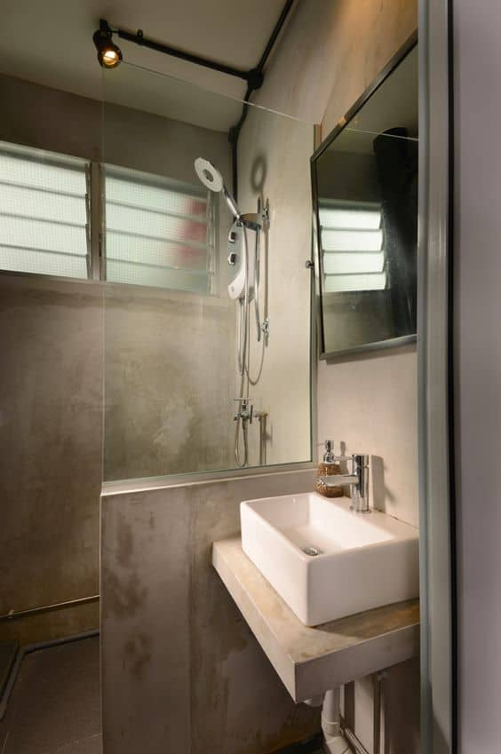 cement hdb toilet spotlight