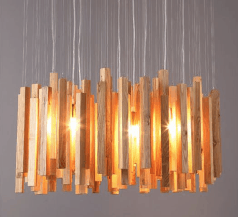 wood pendant lamp grand screed