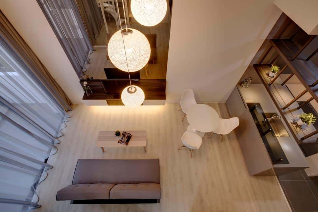 Brilliant 10 Condos With Impressive Ceilings And Stunning Pendant Interior Design Ideas Clesiryabchikinfo