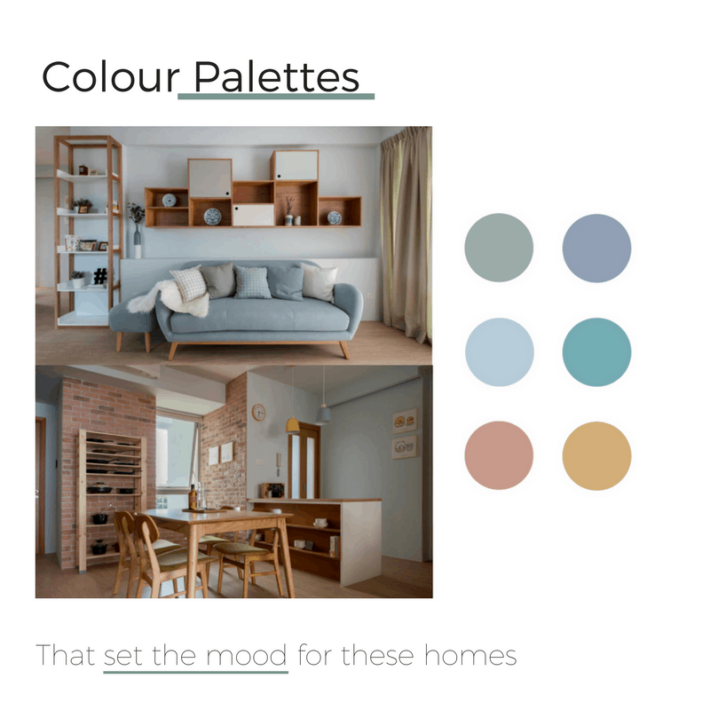 Colour Palettes That Set The Mood For These Homes