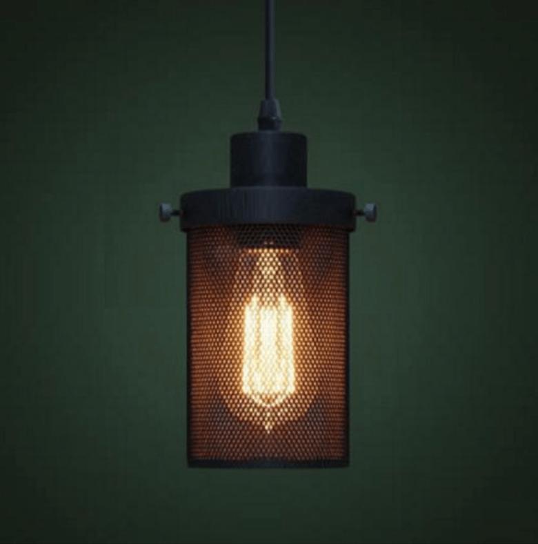 anselm perforated metal barrel lamp screed