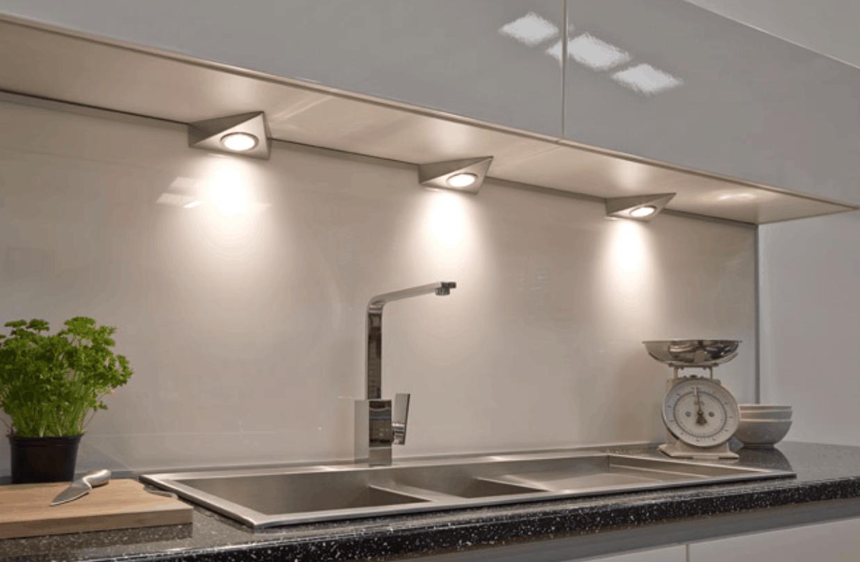 under cabinet lighting kitchen