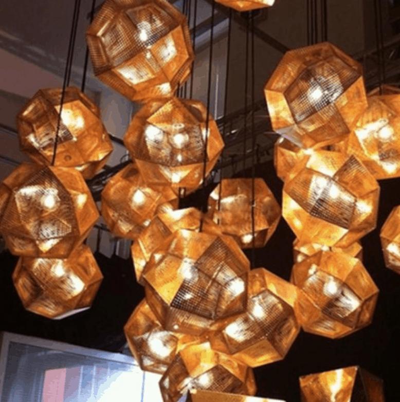 SVEA Futuristic Hanging Lamp