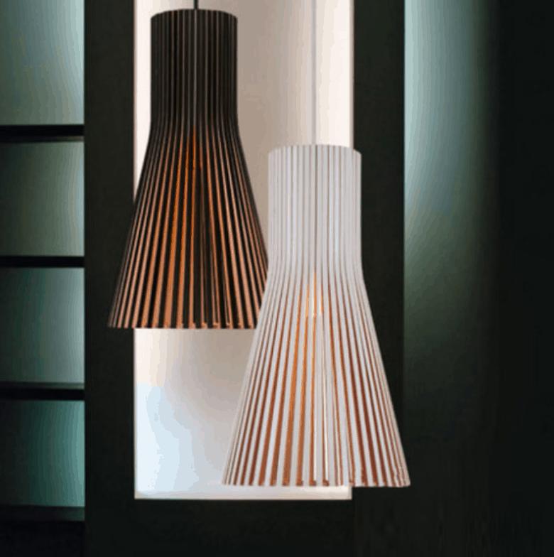 Viola Elegant Strawhut Hanging Lamp screed