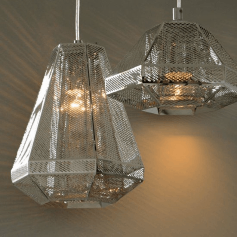 Baltsar Industrial Grilled Lamp