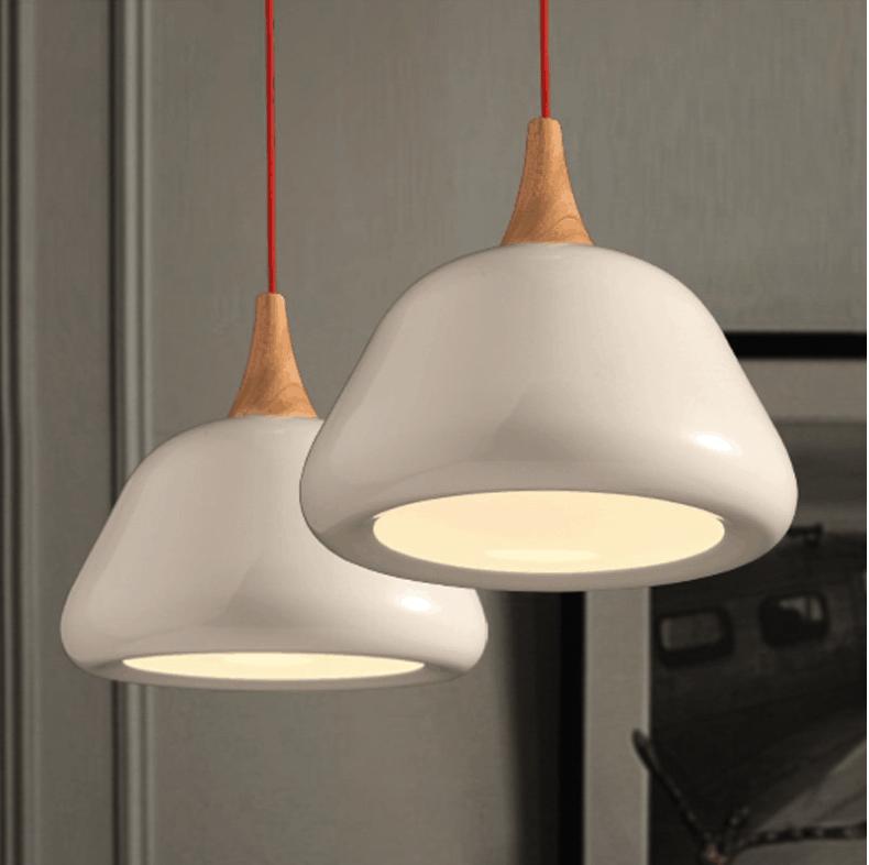 GUSTAV Stylish Hanging Mushroom Lamp