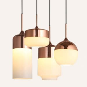 ELIS-Copper-Top-Hanging-Lamp