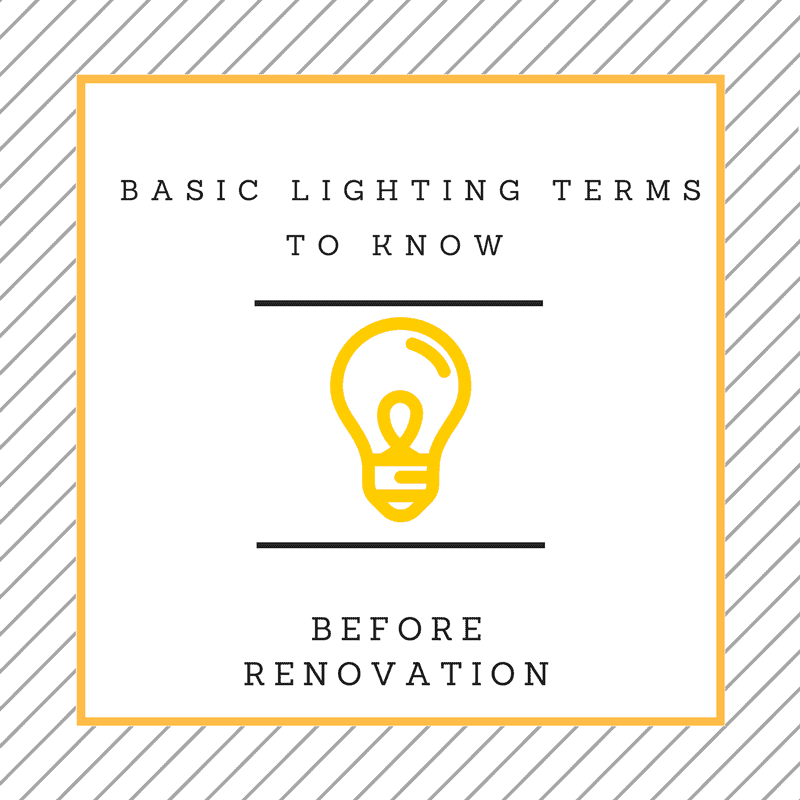 Basic Types of Lightings You Should Know Before Renovating