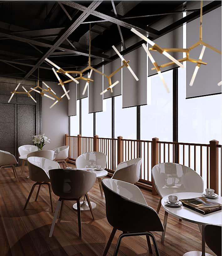Industrial Light And Magic Gold Coast: Agnada Magic Branches Hanging Light