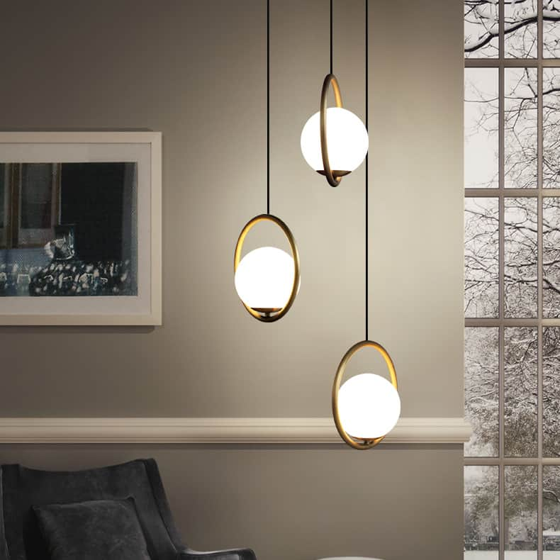 Insuppo Round Ring Ball Pendant Lamp